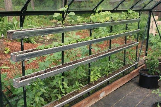greenhouse gutters