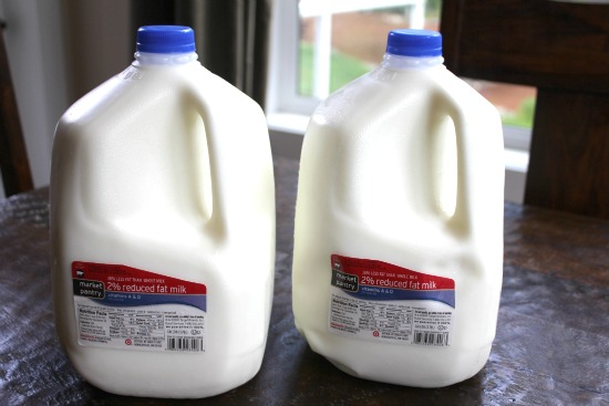 target market pantry milk