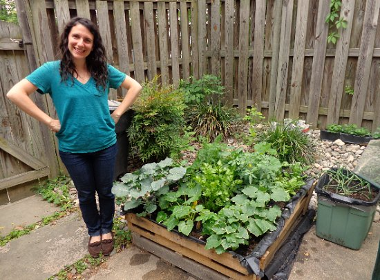 Garden Ideas Using Wooden Pallets wood pallet garden ideas with pictures - one hundred dollars a month