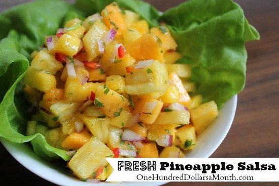 Fresh Pineapple Salsa Recipe