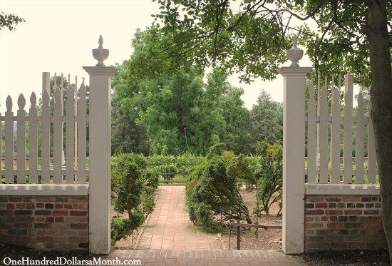 George Washington Garden Mount Vernon