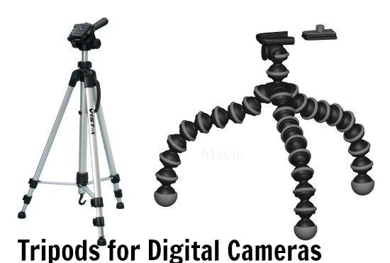 tripods for digital cameras