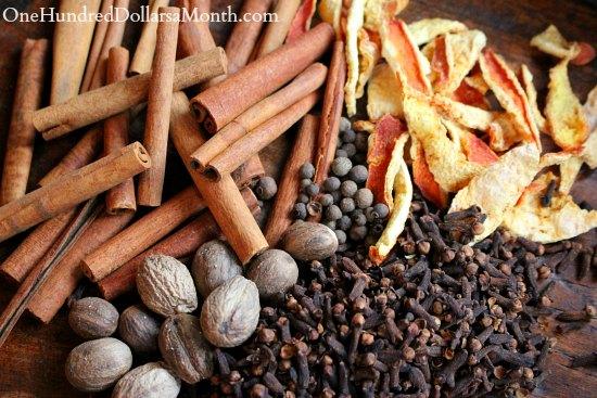 DIY Homemade Mulling Spice