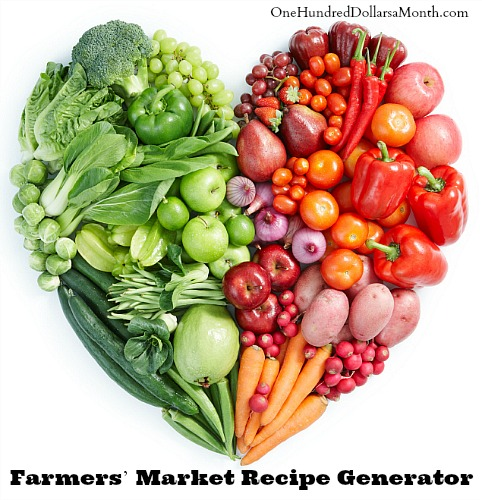 New york times recipe generator one hundred dollars a month farmers market recipe generator forumfinder Gallery