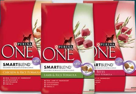 Purina ONE SmartBlend Dog Food Coupon