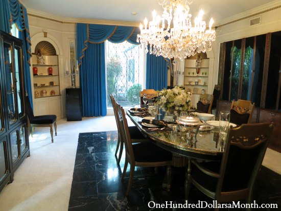 graceland dinning room pictures