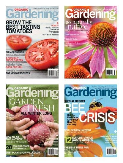 organic gardening magazine