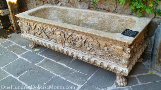 old Italian tub