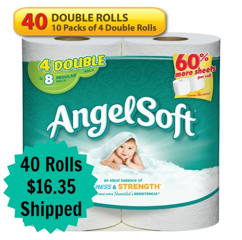 Angel Soft Double Rolls