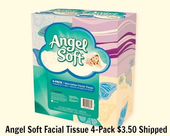 Angel Soft Facial Tissue