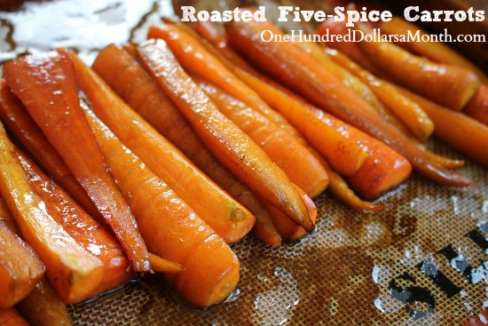 Roasted Five-Spice Carrots