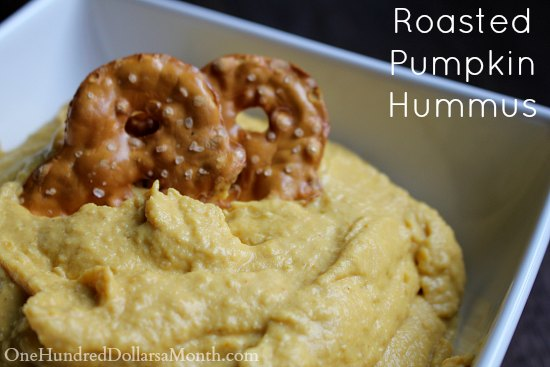 Roasted Pumpkin Hummus