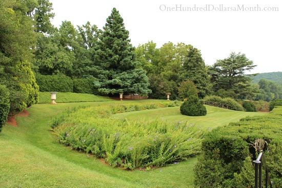 James Madison Montpelier Garden