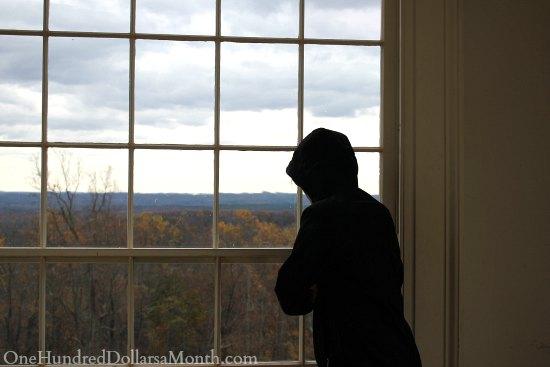 Thomas Jefferson's Monticello Garden in the Fall