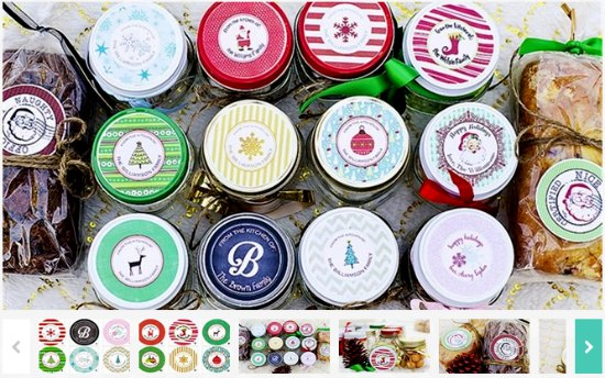 canning stickers labels