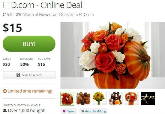 ftd discounts