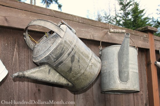galvanized watering cans old vintage - Free Christmas Music Downloads