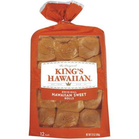 KING'S HAWAIIAN 12-Pack Dinner Rolls coupon