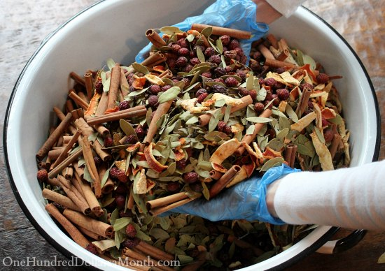 Make Your Own Cinnamon Potpourri