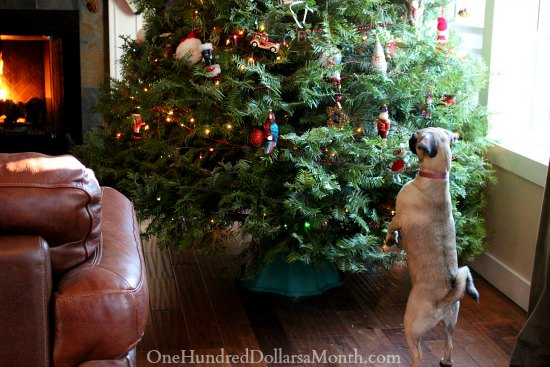 puggle christmas tree