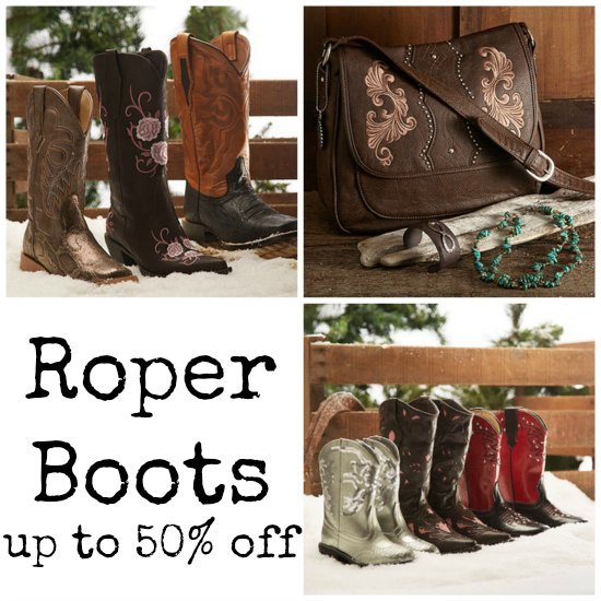 roper boots sale coupons