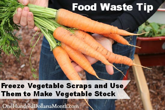 Freeze Vegetable Scraps and Use Them to Make Vegetable Stock