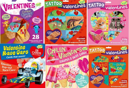 Peaceable kingdom Valentine's Cards