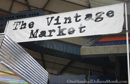 Tacoma Home and Garden Show vintage market