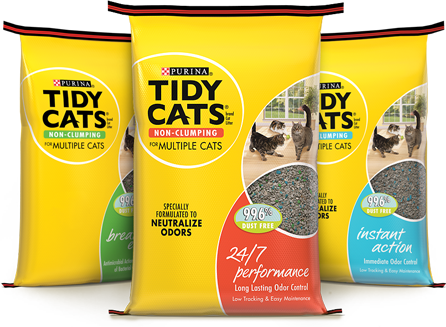 Tidy Cats Non-Clumping Litter coupons