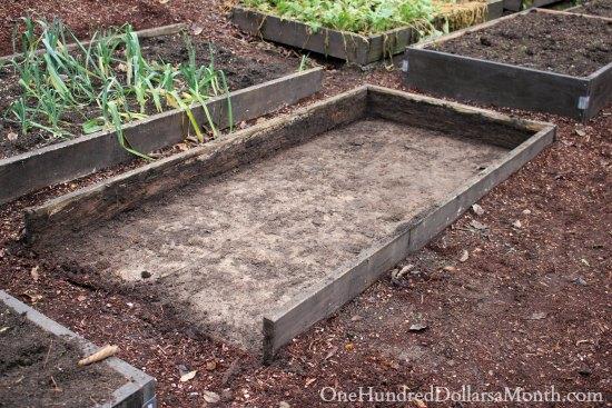 wooden garden box