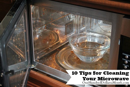 10 Tips for Cleaning Your Microwave