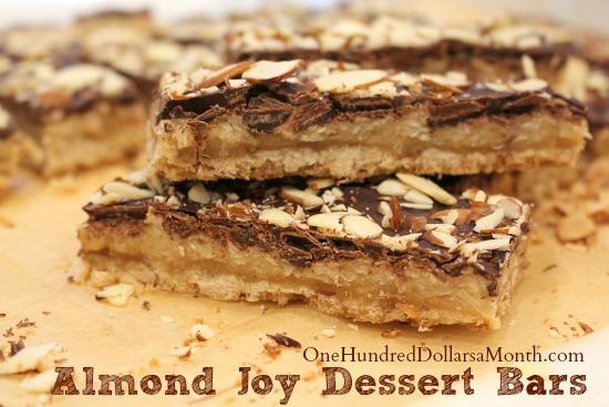 Almond Joy Dessert Bars