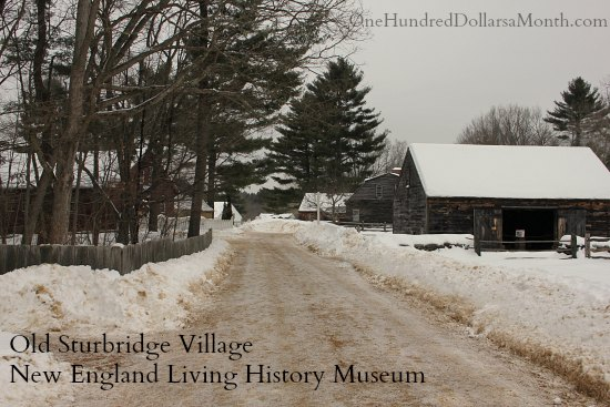 Old Sturbridge Village New England Living History Museum