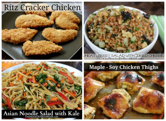 Weekly Meal Plan - Menu Plan Ideas Week 5 of 52