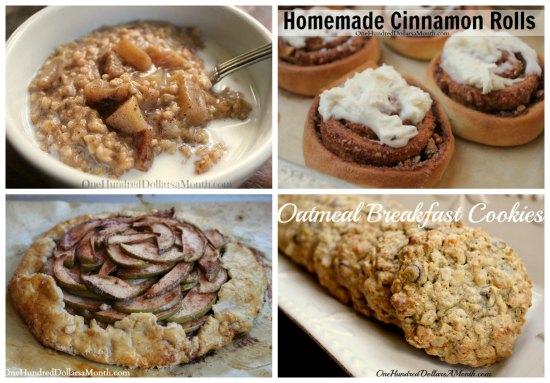 Weekly Meal Plan - Menu Plan Ideas Week 7 of 52 breakfast