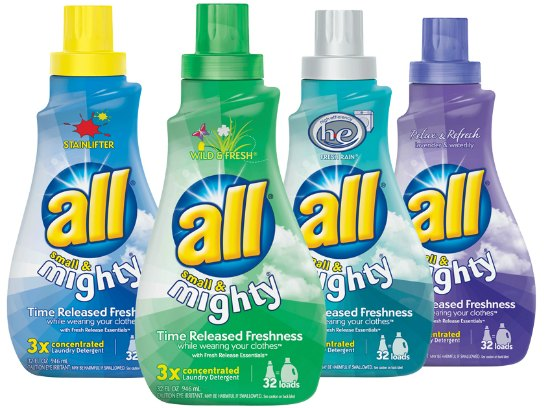 all laundry detergent coupons