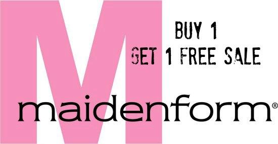 maidenform buy 1 get one free sale