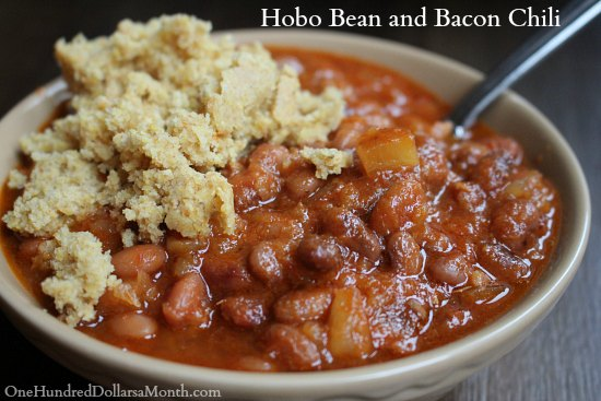 Hobo Bean and Bacon Chili