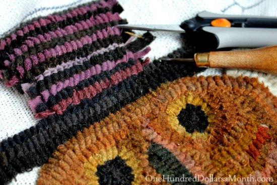 mavis butterfield rug hooking