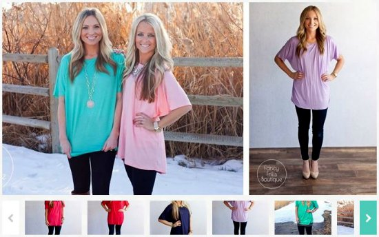 spring tunic tops