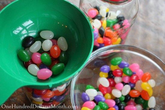 Jelly Bean Mason Jar