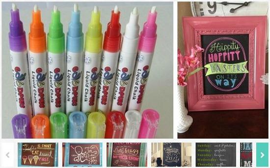 chalkboard pens