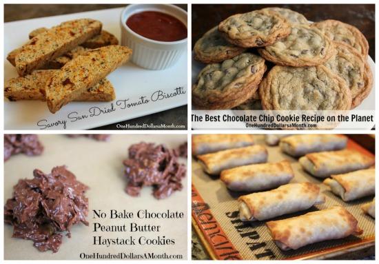 weekly menu plan snacks