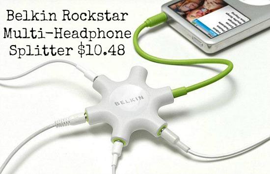 Belkin Rockstar Multi-Headphone Splitter