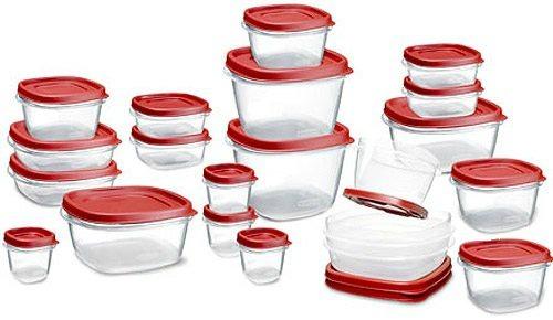 Rubbermaid 42-Piece Easy Find Lid Food Storage Set