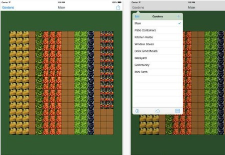 garden tracker app