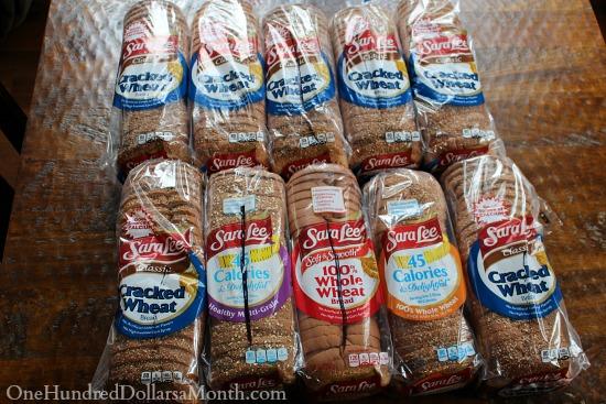 sara lee whole wheat bread