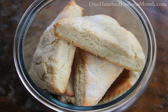 sour cream scones