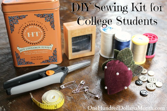 DIY Sewing Kit for College Students