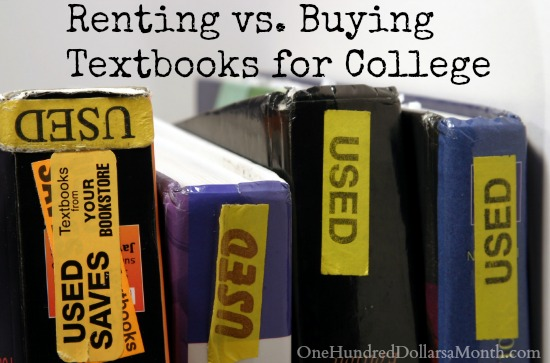 Used College Textbooks >> Renting Vs Buying Textbooks For College One Hundred